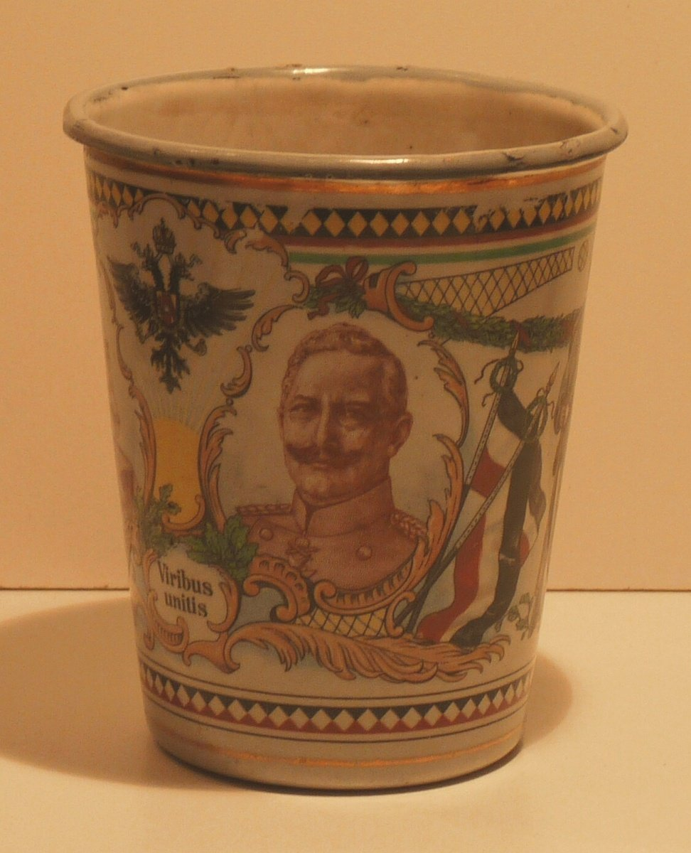 Cup with portrait of wilhelm II.