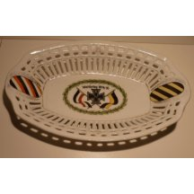 Decorative dish with motif First world war (1914 - 1916)