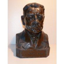 Bronze bust of emperor Hindenburg