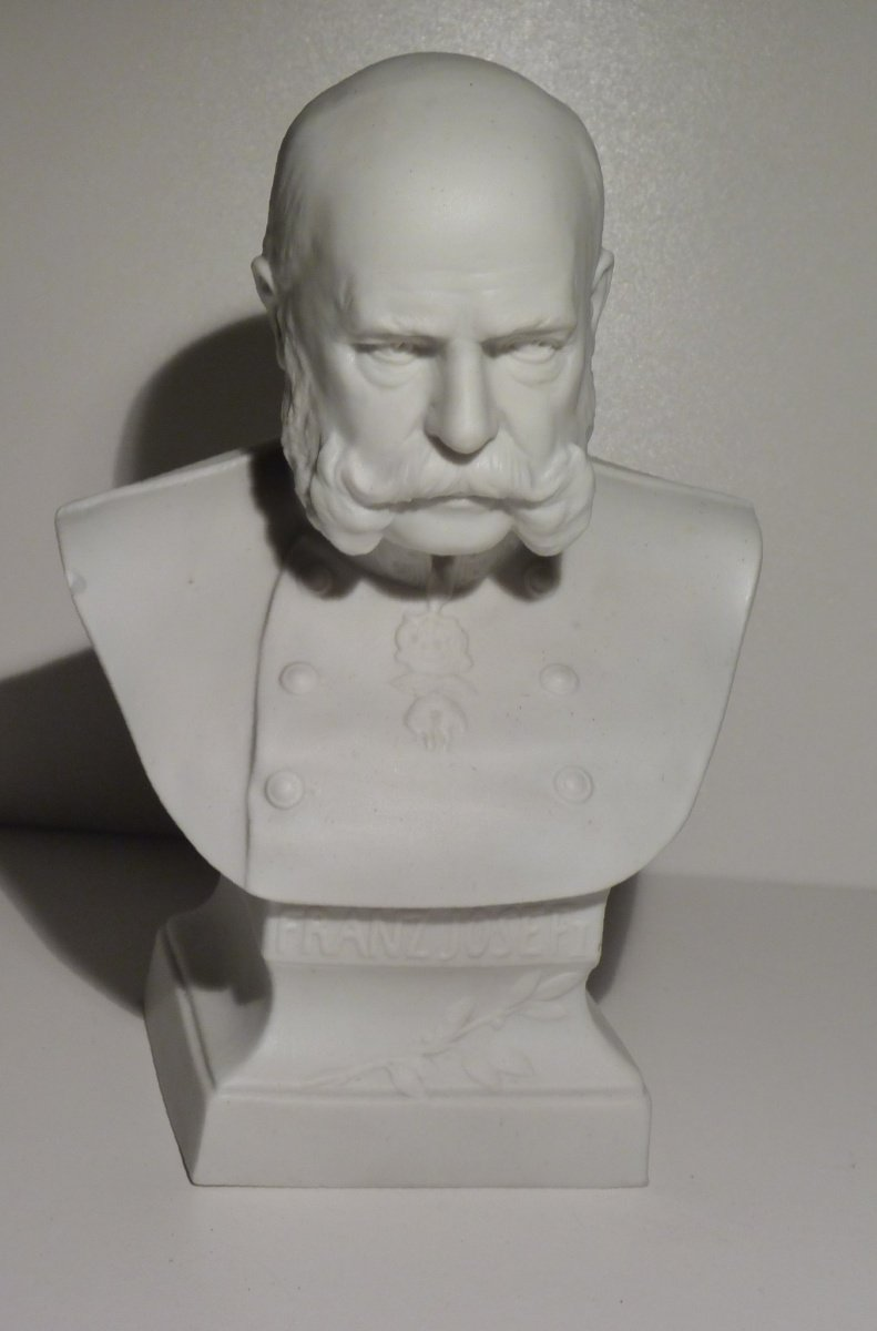 Porcelain statuette of emperor Franz Joseph