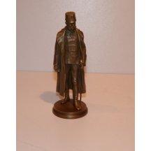 Sculpture of emperor Franz Joseph in uniform