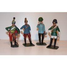 Sošky - Franz Josef a jeho vojsko - barvený cín