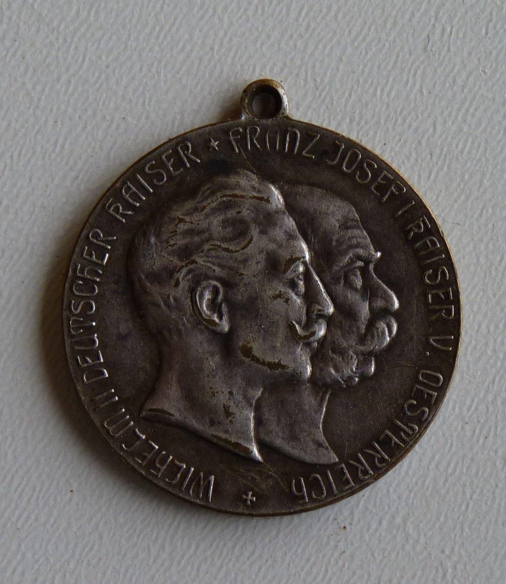 Medaile německého císaře Wilhelma