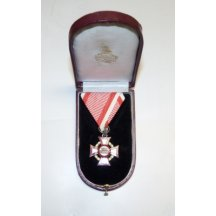 Vojenský záslužný kříž III.třída , originální etue