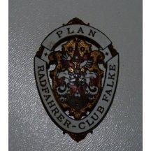 Odznak Plan Radfahrer Club Falke