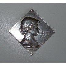 Stříbrná klipa mladého syna císaře Franz Josefa Karla I. - OTTO