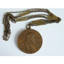 Císař Wilhelm na medaili
