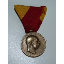 Pamětní medaile na anexi Bosny a Hercegoviny