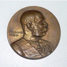 Bronzová medaile císaře Františka Josefa