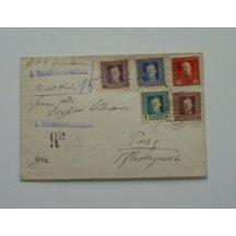 Dopis polní pošty, smíšená emise F.J. a Karla