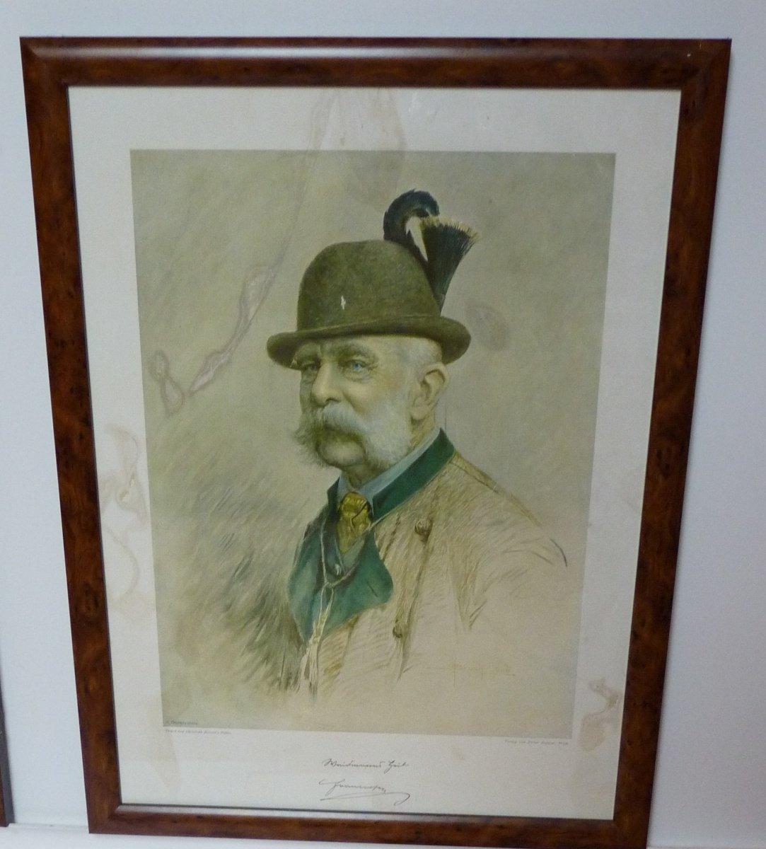 Franz Joseph in hunting attire