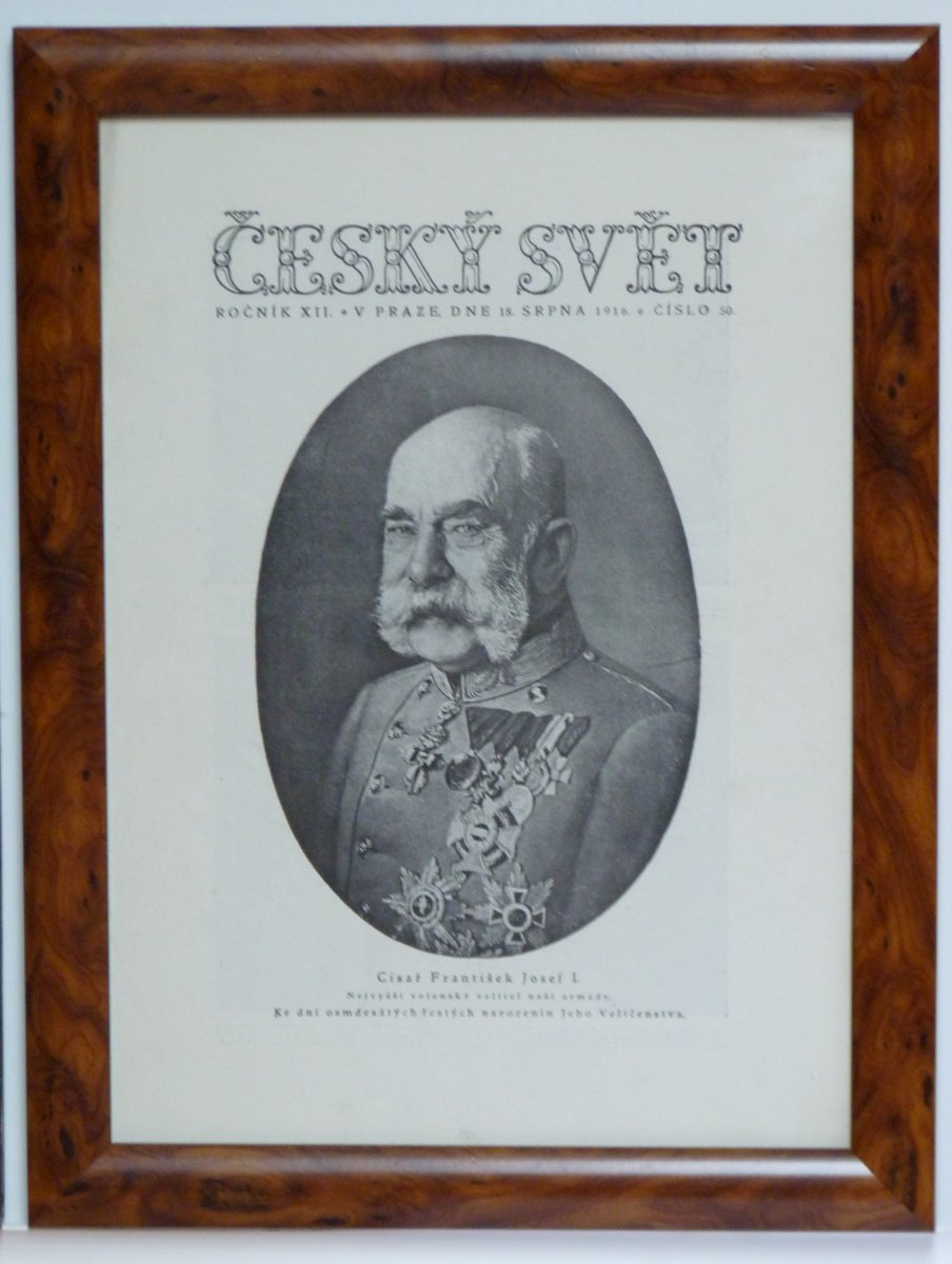 Czech world, portrait of Franz Joseph