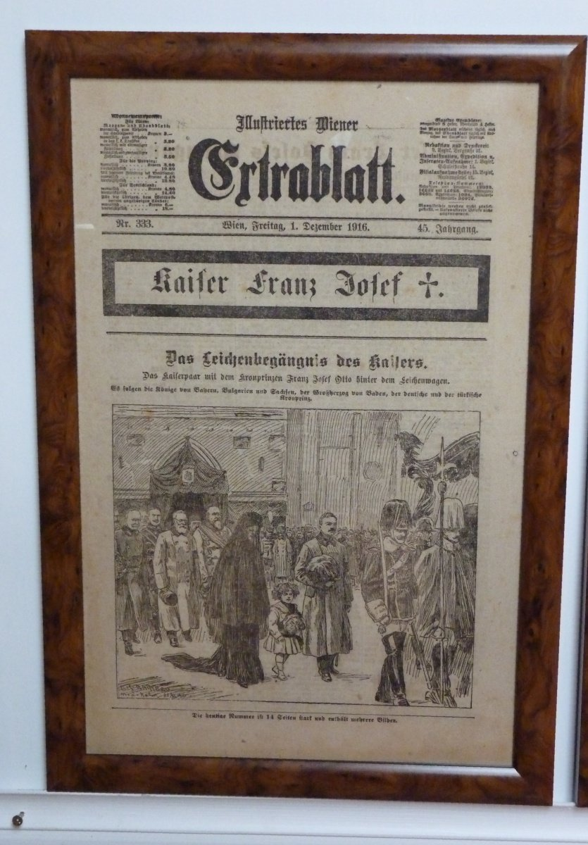 Funeral procession - funeral of emperor Franz Joseph