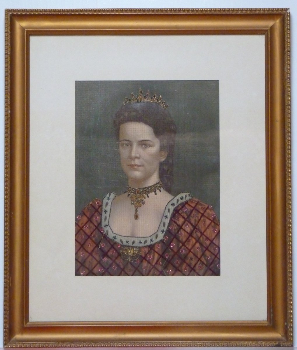 Extraordinary painting of empress Elisabeth