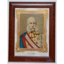 Barevný obraz císaře Františka Josefa I.