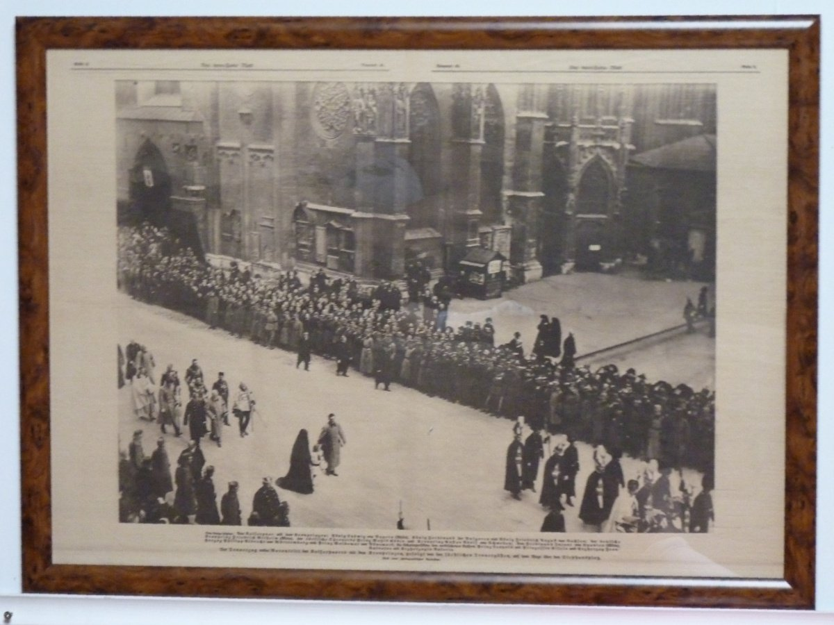 Funeral procession for the death of emperor Franz Joseph