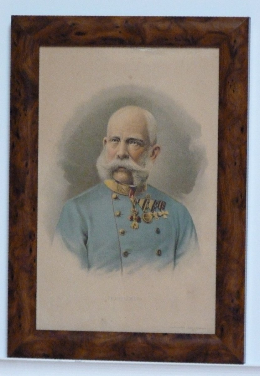 Franz Joseph in staff uniform