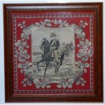 Císař Wilhelm II. na koni - šátek