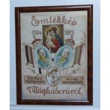 Franz Josef a Wilhelm - vyšívaný obraz
