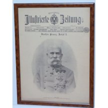 Franz Joseph I. - complete of newspapers