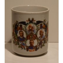Cup - Franz Josef I. , Karl and generals