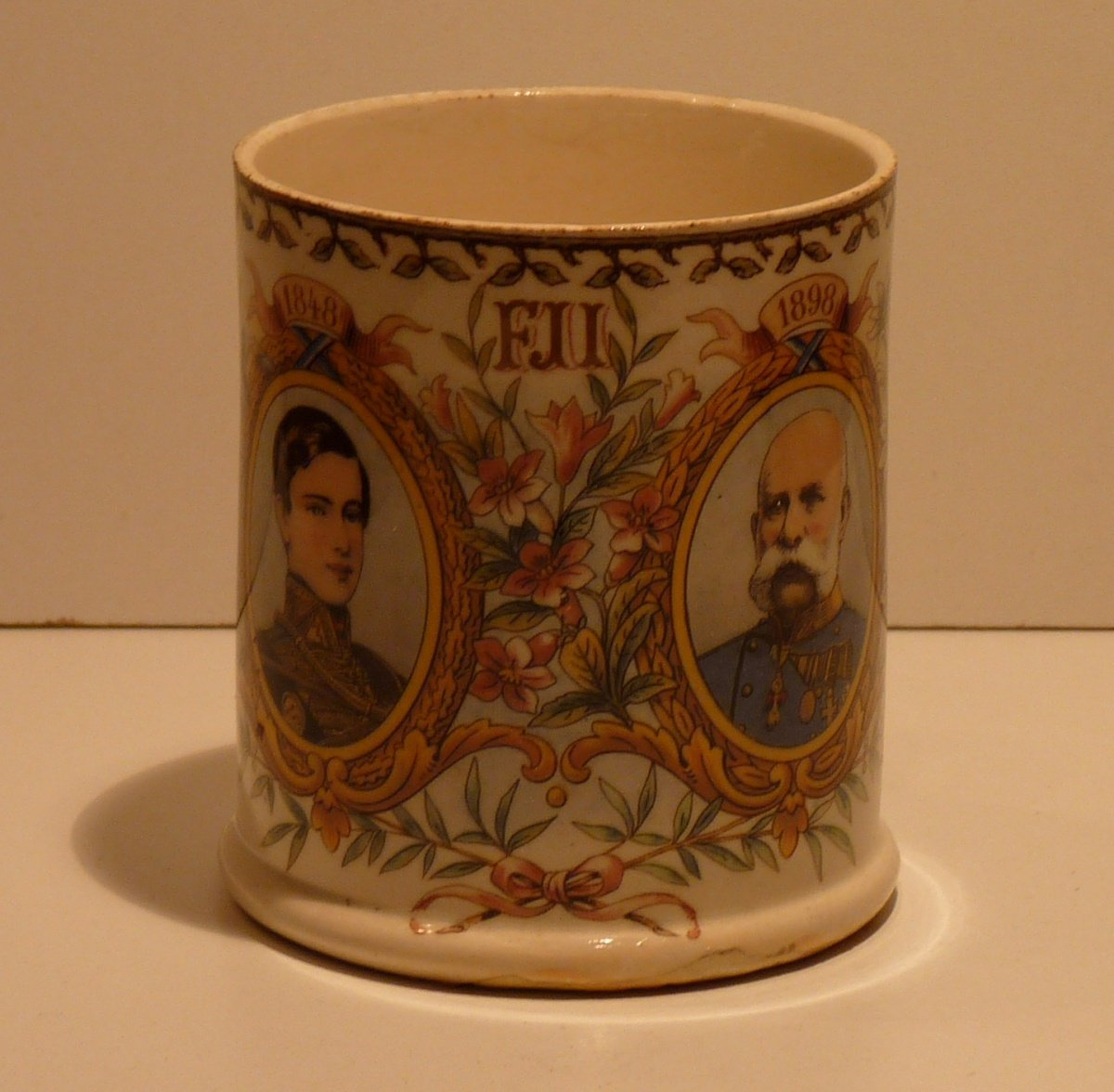 Cup with Franz Joseph