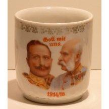 František Joseph a Vilém na hrnečku, 1914-1916