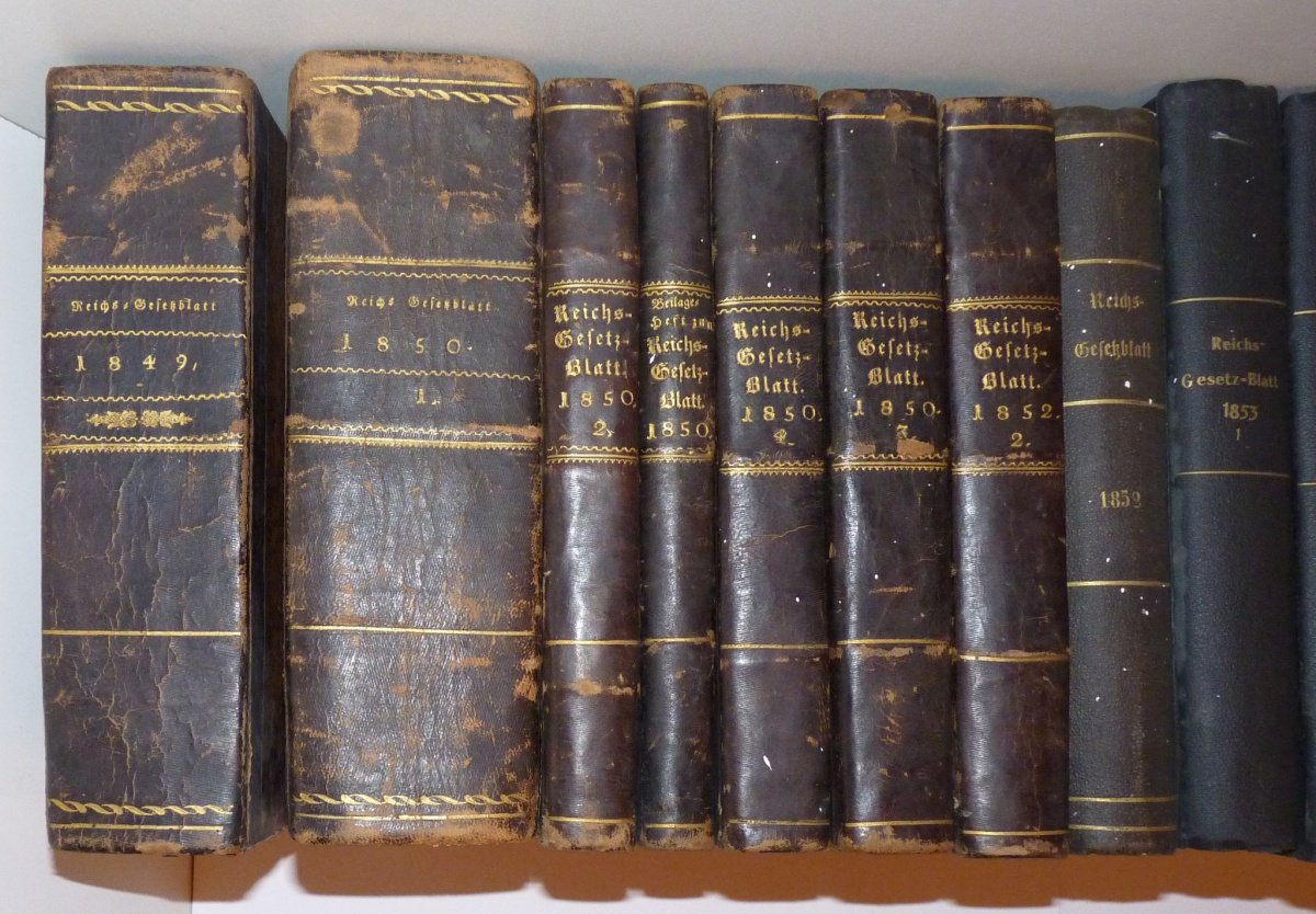 Collection of law Franz Joseph I.