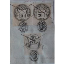 printed fee stamps