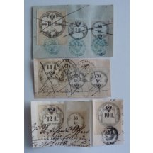 Cutting from deed with different fee stamps