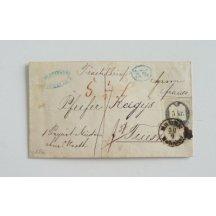 Dopis s 5 krejcarovým kolkem