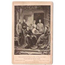 Franz Josef a Elisabeta , Rudolf a Stefanie , belgický král a královna