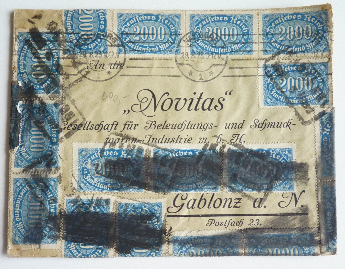 Letter from the German inflation, 1