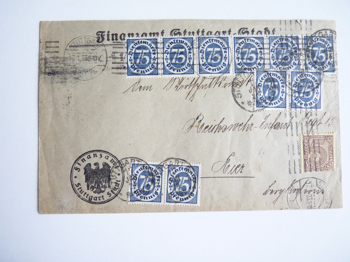 Letter from the German inflation, 17