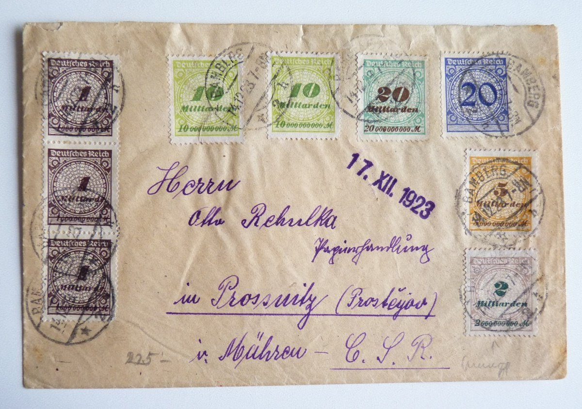 Letter from the German inflation, 18