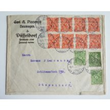 Dopis z inflačního období Německa, 19
