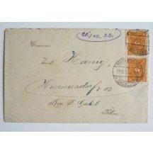 Dopis z inflačního období Německa, 20