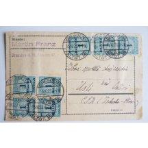 Dopis z inflačního období Německa, 28