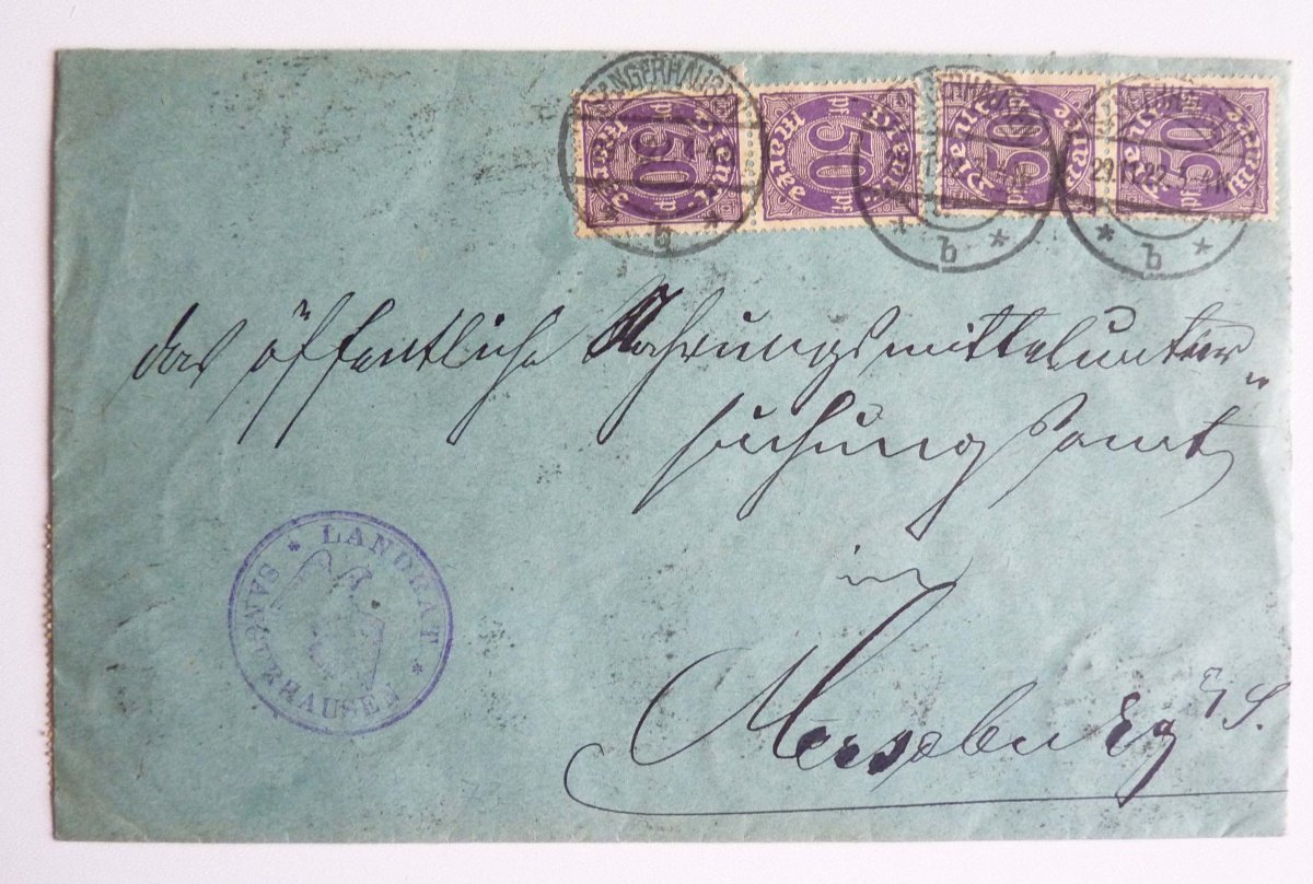 Letter from the German inflation, 108