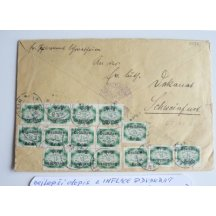Dopis z inflačního období Německa, 4