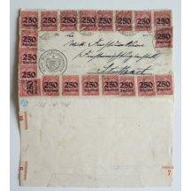 Dopis z inflačního období Německa, 41