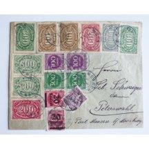 Dopis z inflačního období Německa, 5