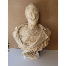 Busta císaře Wilhelma II. s řády