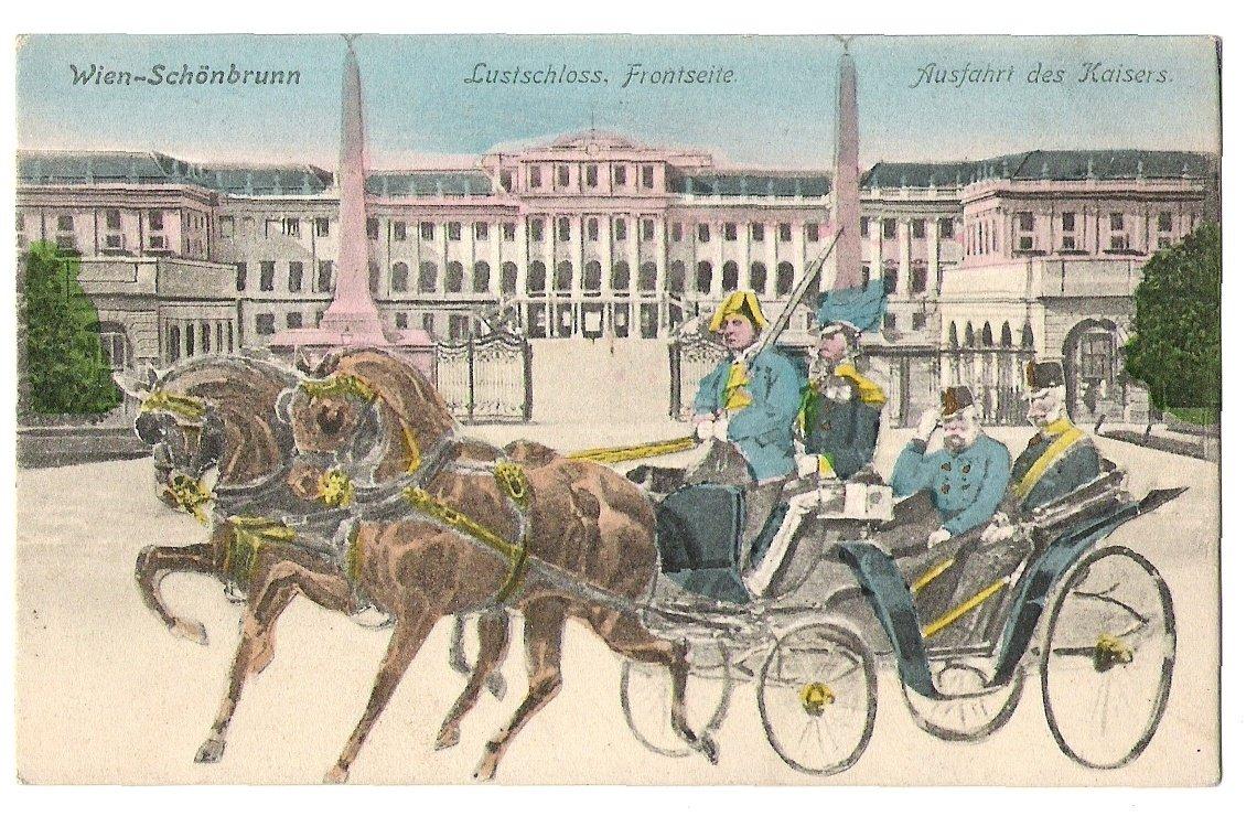Franz Josef in the coach