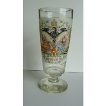High glass with german eagle
