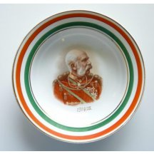 Franz Joseph I. ..... patriotic plate (this type is very rare - small series)