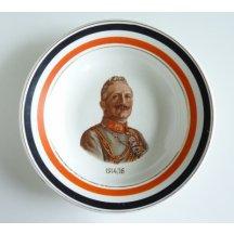 Wilhelm II. - patriotic plate