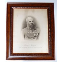Portrait - Franz Josef / print extremely sophisticated