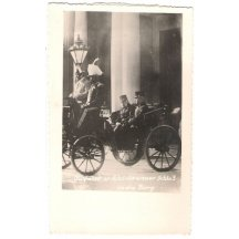 Franz Josef na projížďce s kým ... ?