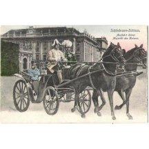 Next colorized edition of Franz Joseph, in coach